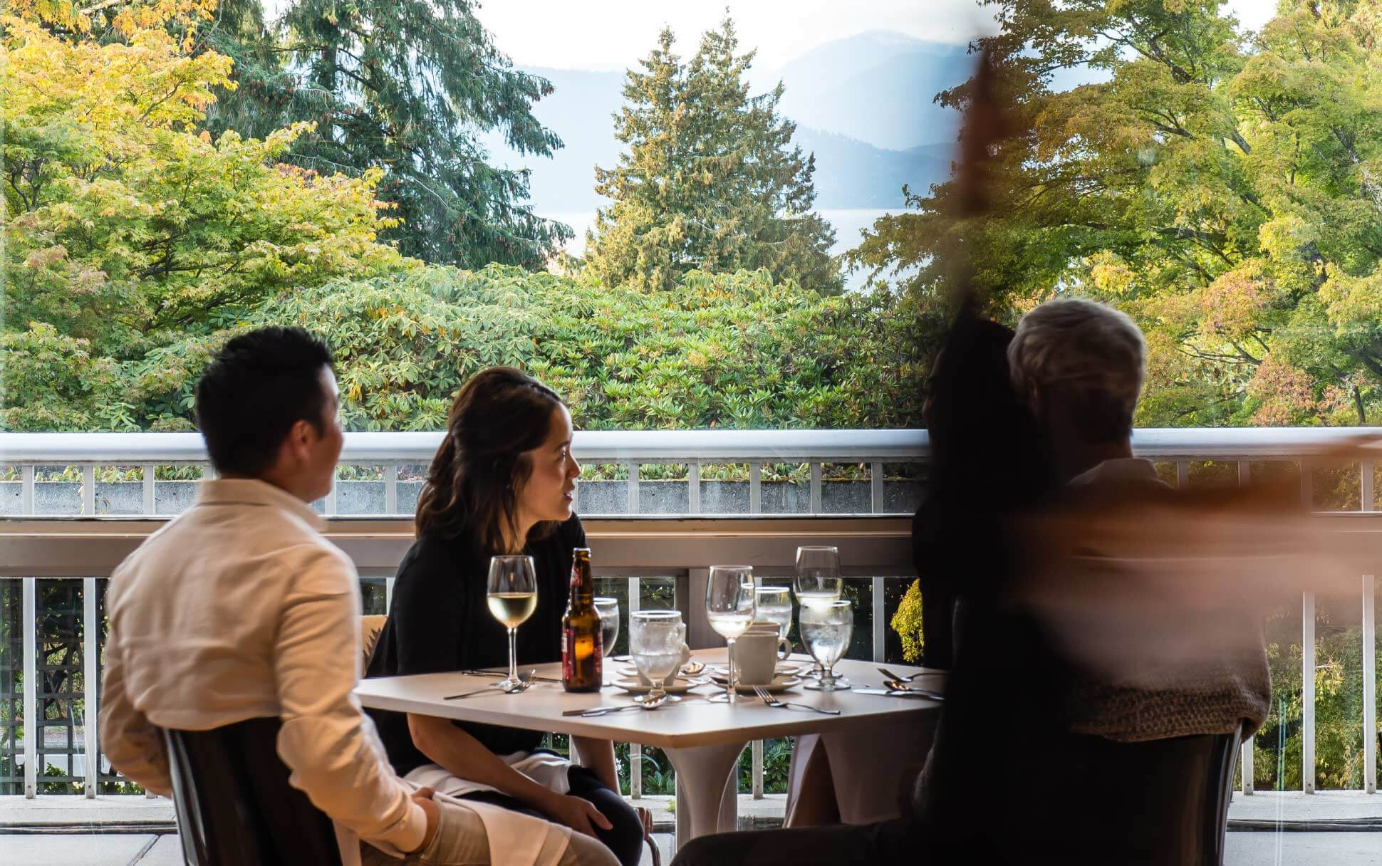 Lunch at Sage Restaurant at UBC Vancouver.